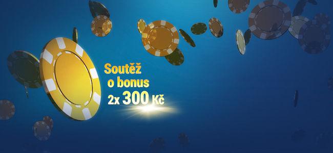 Soutěž o 300Kč bonus pro tebe i pro tvého kamaráda