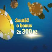 Soutěž o dva 300Kč bonusy na Sazka Hry
